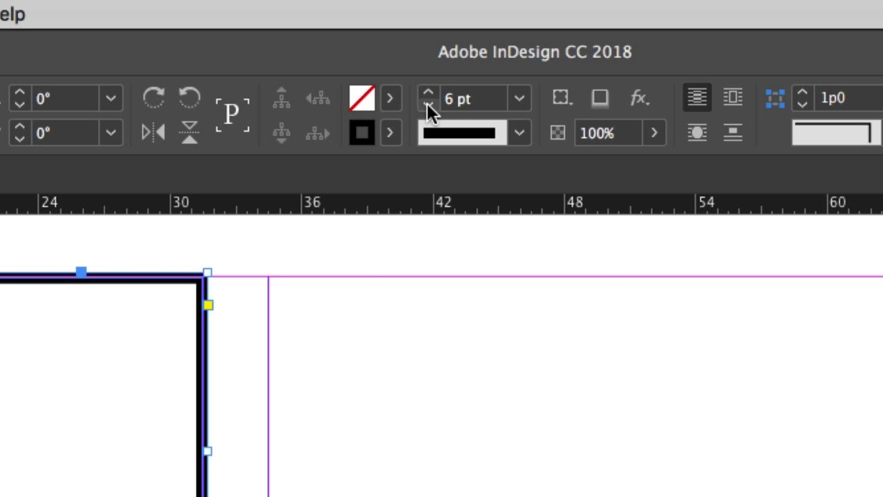 InDesign Storyboard Template