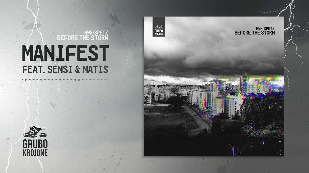 HWR x SPETZ - MANIFEST feat. Sensi & Matis CentrumStrona (Official Audio)