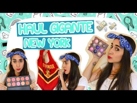 HAUL GIGANTE NEW YORK! | Fashion Diaries