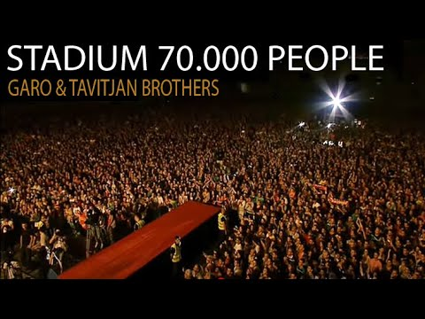 Garo i Tavitjan Brothers so Balkanskite legendi - FULL CONCERT HD at Stadium Filip II Skopje 2012