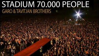Garo i Tavitjan Brothers so Balkanskite legendi - FULL CONCERT HD at Stadium Filip II Skopje 2012