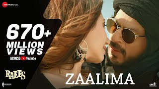 Zaalima   Raees   Shah Rukh Khan & Mahira Khan  