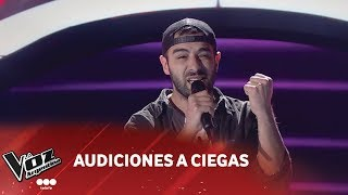 "M. Amante - ""They don't care about us"" - Michael Jackson - Audición a ciegas - La Voz Argentina 2018"