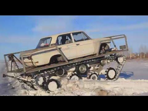 Russian Mad Max? Man creates Lada 'tank'