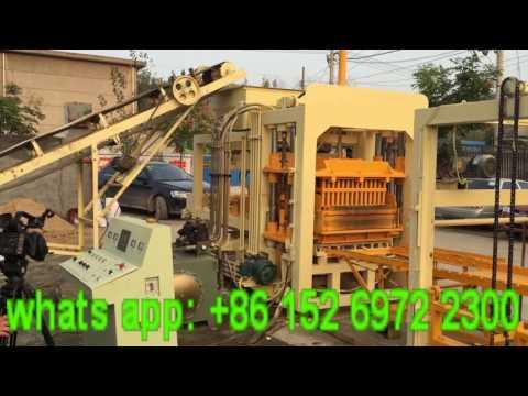 Linyi Fuda Machinery Manufacturing Co., Ltd. QT4-15 big automatic concrete block machine