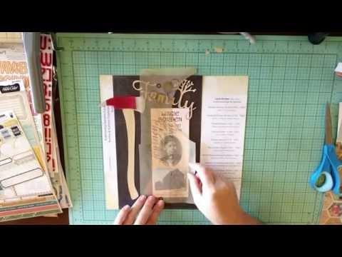 Scrapbooking Family History: Lizzie Borden Family Tree