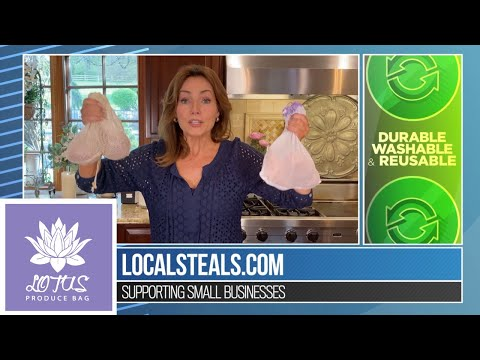 Local Steals & Deals with Lisa Robertson: Lotus Produce Bags Review
