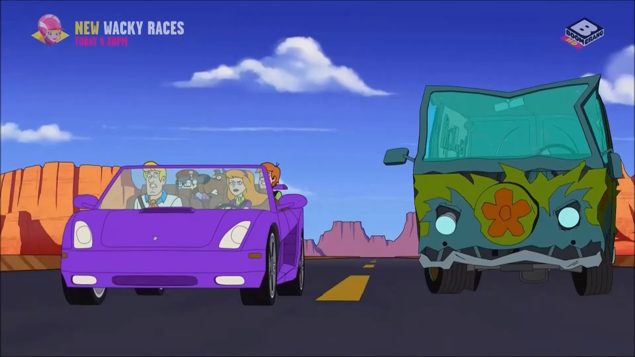 Be cool scooby doo s02e18 chase music youtube - Race de scooby doo ...
