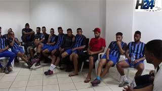 Ambiance tendue dans les vestiaires du club Rapide Oued Zem - H24info