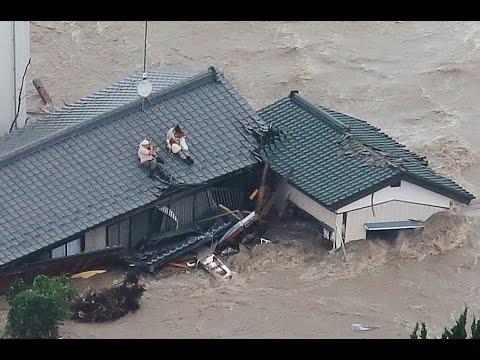 東日本豪雨と福島の因果関係 //  気象兵器?
