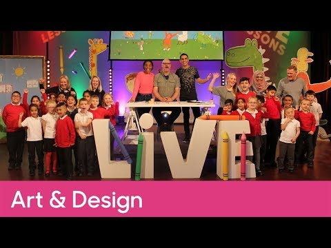 Full Cbeebies Pablo Live Lesson | Primary Art and Design - CBeebies Pablo Live Lesson