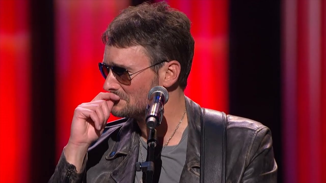 eric church breaks down while debuting new song for las vegas victims youtube. Black Bedroom Furniture Sets. Home Design Ideas