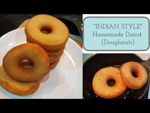 homemade-wheat-flour-doughnuts-(donuts-recipe)---kids-favorite-quick-donuts-recipe-(indian-style)