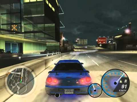 Nfsu2 Ride With My Skyline R34 Best Of Rb26 Sound