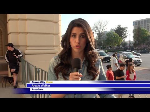 CCN News: Pasadena City Hall Carlos Ortiz Protest