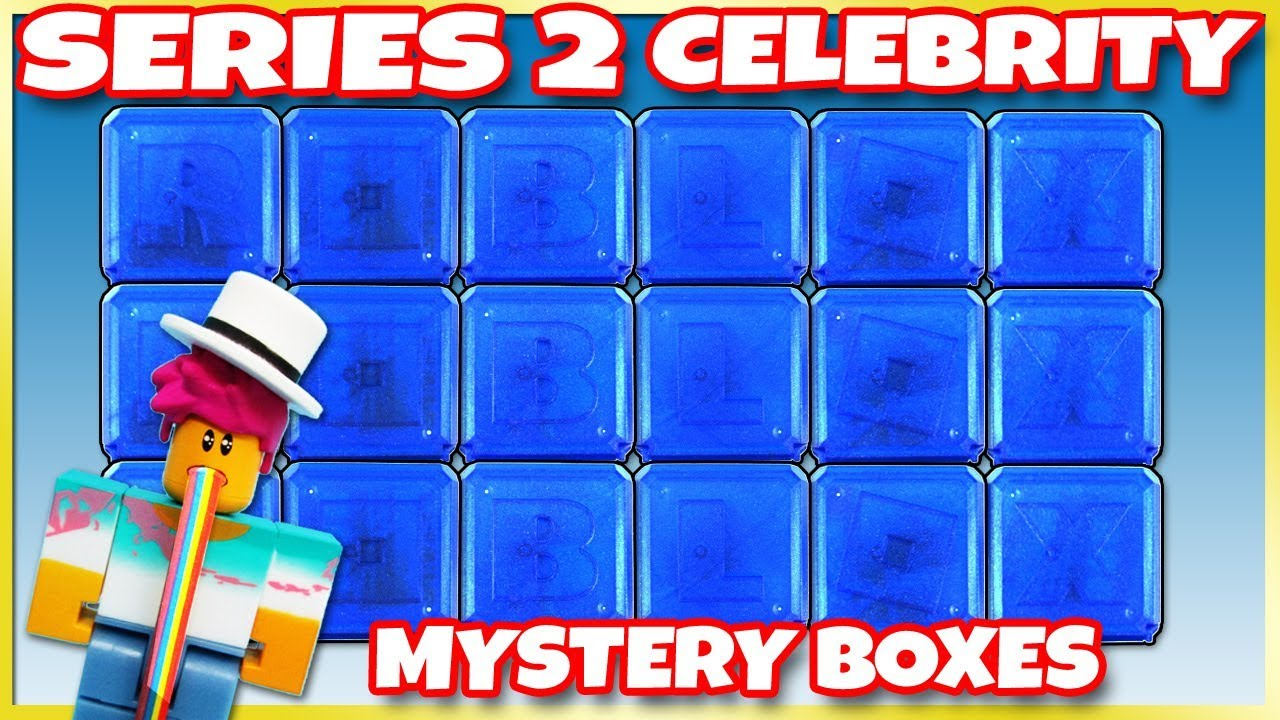 HUGE Roblox Series 2 Celebrity 18 Blue MYSTERY BOX OPENING 😱 Toy Review    Trusty Toy Channel