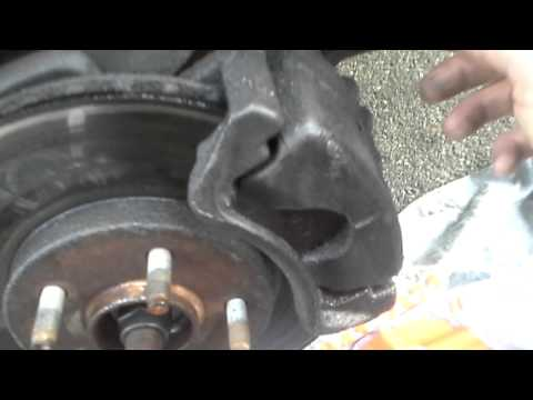 Do Not spray any type of lubricant on your rotors