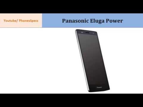 Panasonic Eluga Power, Specifications