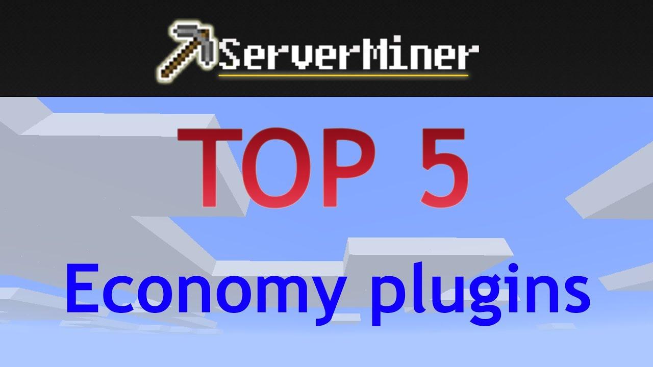 Top 5 Economy Plugins For Your Bukkit Server