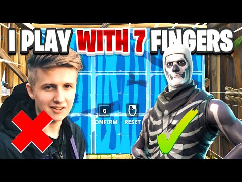 This Player Is The BEST EDITOR ON MOBILE And Plays With 7 FINGERS!!