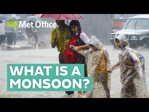 What is a monsoon?