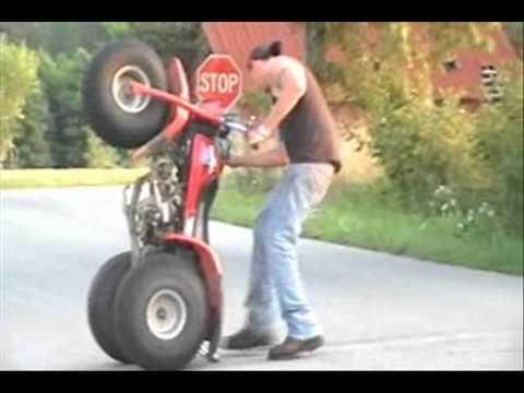 Pocket bike stunts/ street bike strunts  ...Dustin May...