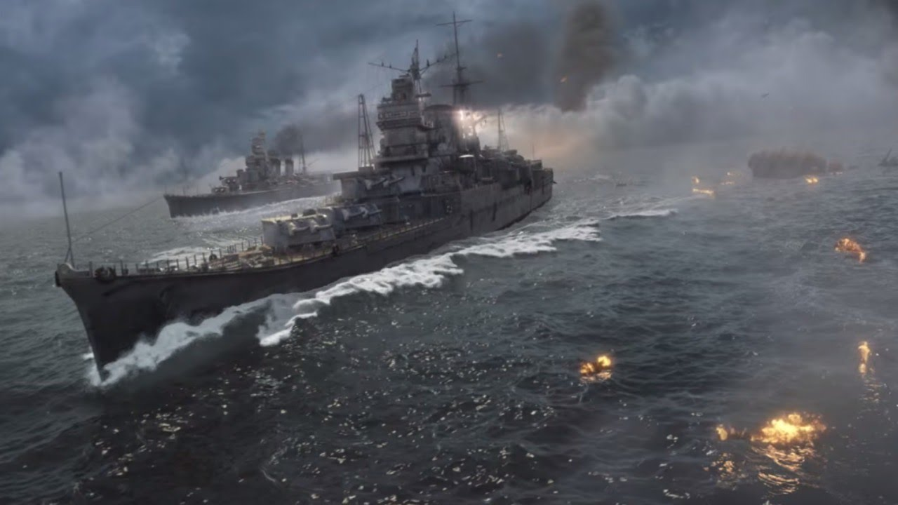 World Of Warships Official Open Beta Trailer Youtube