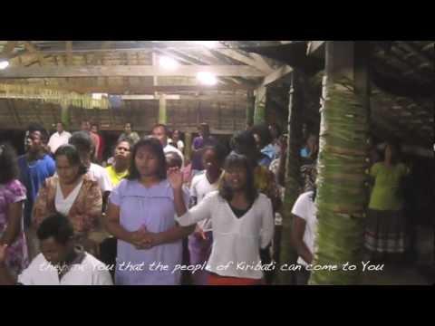 Crafted Prayer for Kiribati