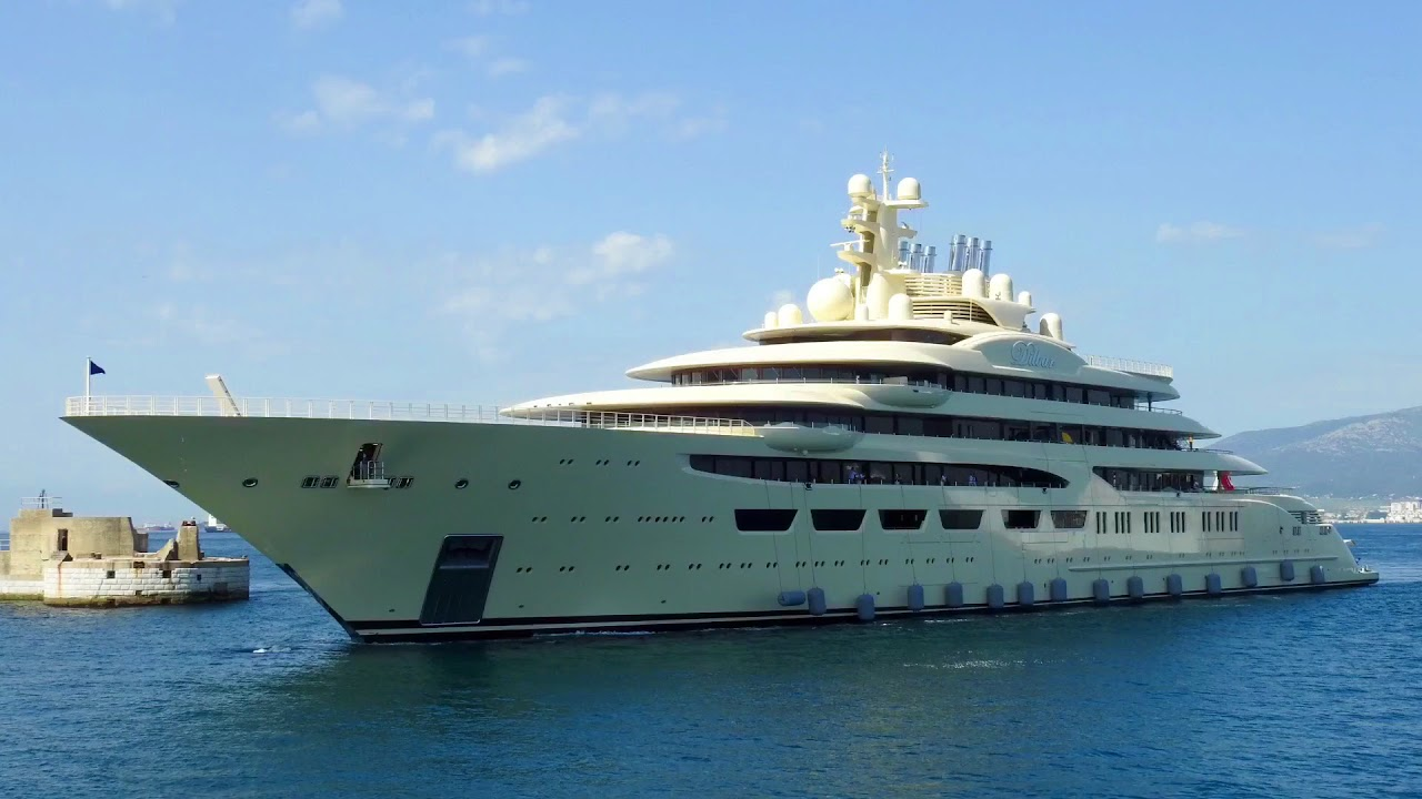 Dilbar Largest Yacht In The World By Volume