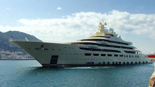 Dilbar - Largest yacht in the world by volume