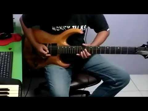 Haruskah berakhir -  Ridho rhoma - cover guitar by: Arnos kamjet