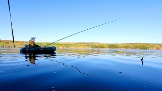 Щука на поплавок и снасточку. Рыбалка на щуку в августе.