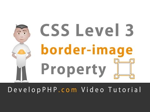 CSS3 border-image Property Custom Graphics Slice Tutorial