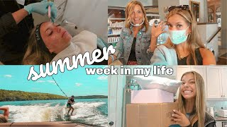 couple days in my life/ boating, facials & unboxing!!