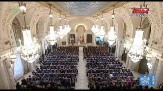 Pielgrzymka Franciszka do Rumunii: Spotkanie z władzami i przedstawicielami społeczeństwa