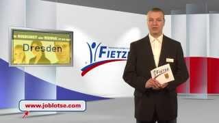 April 2014 Dresden JOBLOTSE TV präsentiert Stellenangebote der PV Fietze