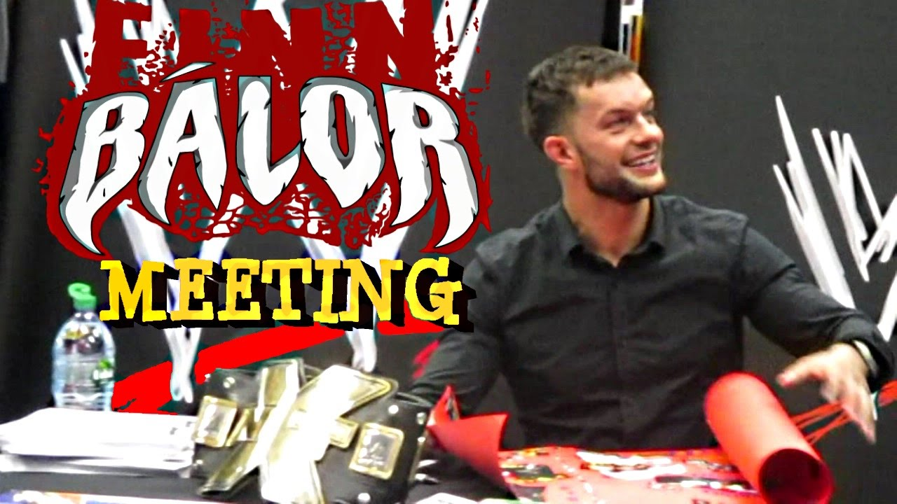 Meeting finn balor wwe superstar in dublin 4th november 2015 youtube m4hsunfo