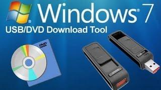 Создание загрузочного DVD в Windows 7 USB DVD Download Tool