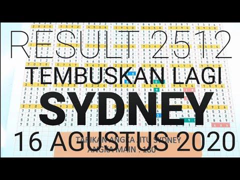 Tarikan Paito Sydney 16 Agustus 2020 Jitu Togelsdy Paitosydney Sydneyjitu Youtube