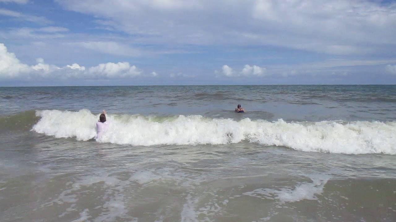 Waves At Myrtle Beach South Carolina July 18 2017