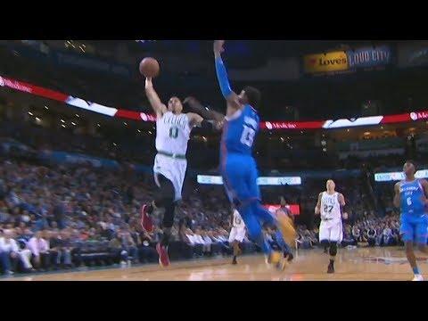 Jayson Tatum Dunks on Paul George! Thunder 0-4 Start! 2018-19 NBA Season