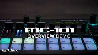 Roland MC-101 GROOVEBOX: Overview