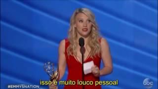 Kate McKinnon ganha Emmy de melhor atriz de comédia por Saturday Night Live - discurso LEGENDADO