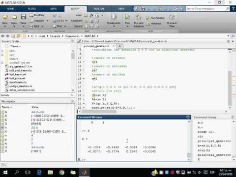 Sintonizacion con algoritmo genetico basico LQR