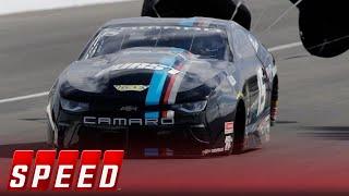 Tanner Gray vs. Jeg Coughlin Jr. - Indianapolis Pro Stock Final | 2018 NHRA DRAG RACING