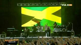 Damian Marley - Welcome To Jamrock - Maquinaria Festival Chile 2011