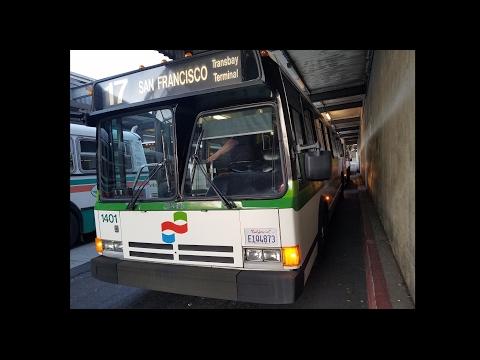 NorCal Bus Fans Excursion 2017: Ex-Golden Gate Transit 1401