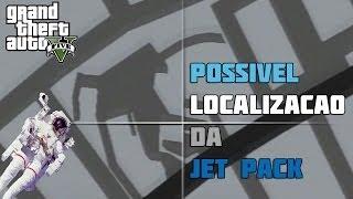 GTA V - POSSÍVEL Localização da Jetpack