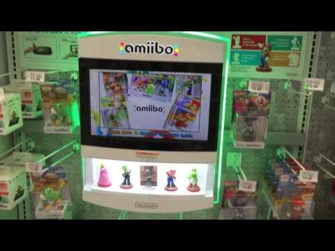 Toys R Us Amiibo Stock in Irving, TX on April 2, 2016