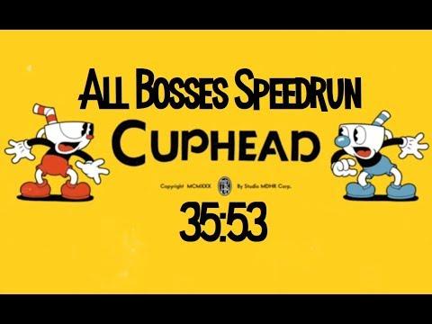 [PB] Cuphead All Bosses Speedrun in 35:53
